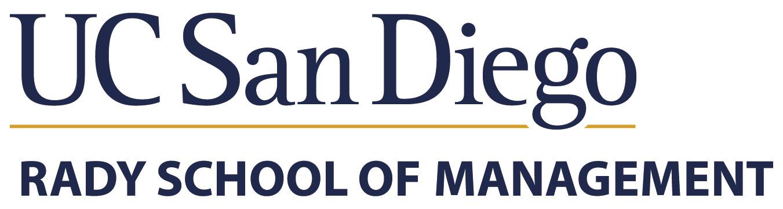 UC San Diego Rady School of Management logo