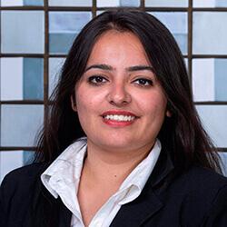 Divya Ghai Andrea Manzi, Master's student ambassador