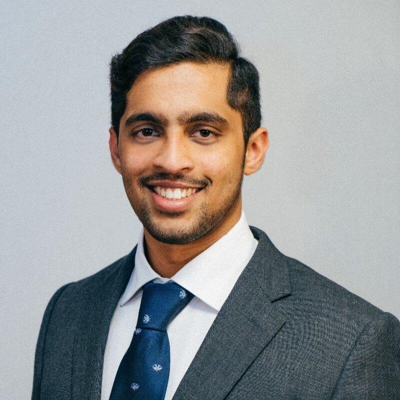 Karthik Natesan, Master's student ambassador
