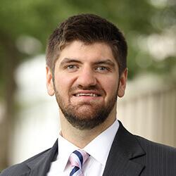 Patrick Phibbs McIntire master's student