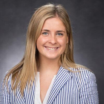 Jane Maher, MBA ambassador at Gabelli School of Business