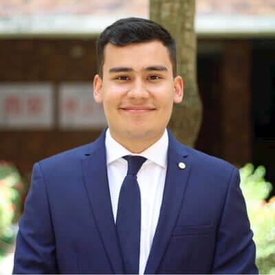 Juan Villafrade, Gabelli School of Business Master's student